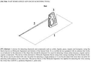 Image of the(?) C-FAST detector from the patent application