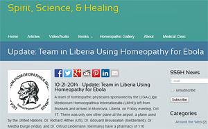HomeopathsLiberiaEbola