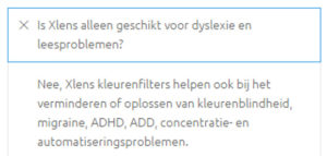 Xlens claims the filters work for ADHD and ADD as well